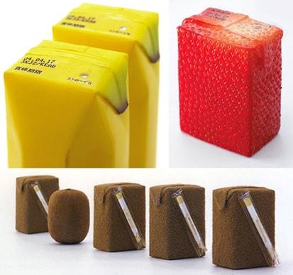 Emablagens de suco feitas pelo Naoto Fukusawa. Simplesmente geniais!