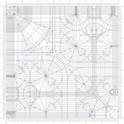 Esse é diagrama que indica todas as dobras (Man et Manus II)