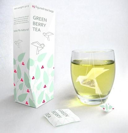 Chá, pela russa Natália Ponomareva