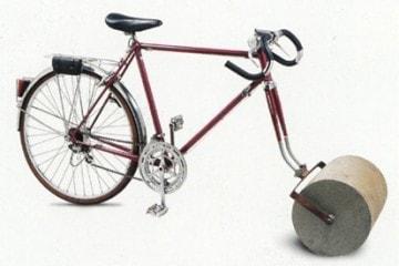 Bicicleta aprisionadora