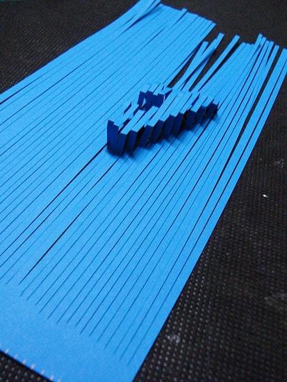 Tipografia em 3D por Bárbara.
