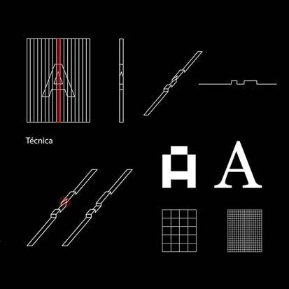 Bárbara, técnica para tipografia 3D