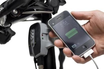 Biologic Recharger – Carregado de aparelhos eletrônicos para ser acoplado em bicicletas. Design da Miniwiz.