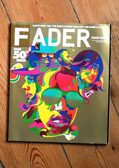 Capa revista Fader
