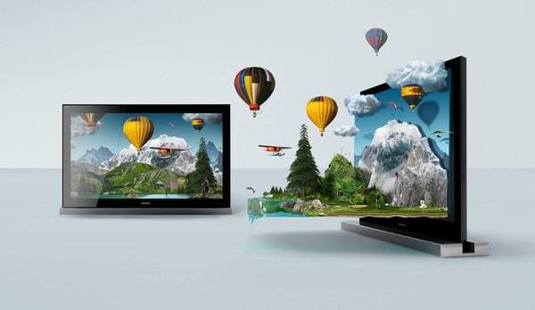 Ilustra para o Sony Brava 3D