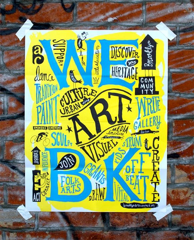 Identidade e materiais impressos para o Brooklyn Art Center