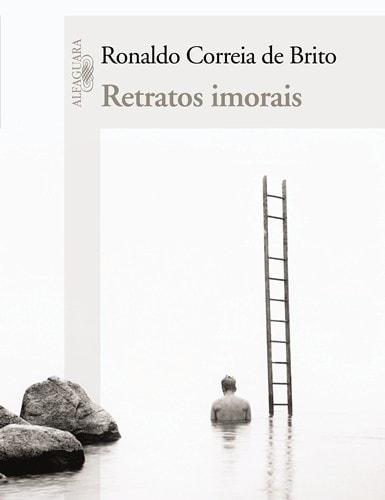 Designer: Rodrigo Rodrigues Livro: Retratos imorais Editora: Objetiva/ Alfaguara