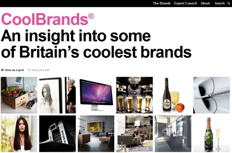 coolest britain brands