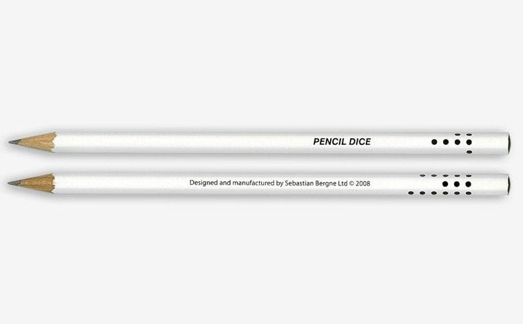 Lápis que também é dado