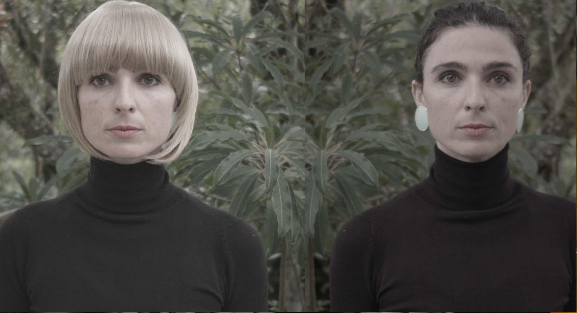 """Imagem do vídeo """"Dueto em três vozes para Mariposa"""", de Juliana Gisi."""
